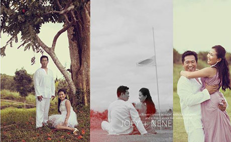 Haciendas De Naga Prenuptial Photo Shoot