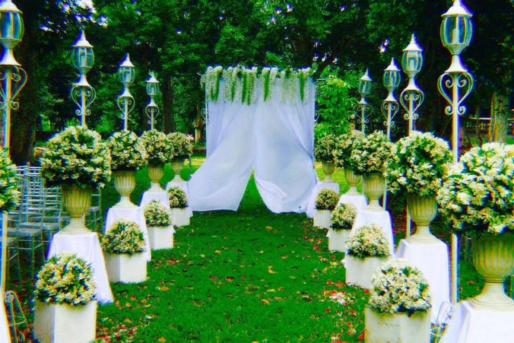 Outdoor Park Or Indoor Room For Wedding Ceremony: Haciendas De Naga