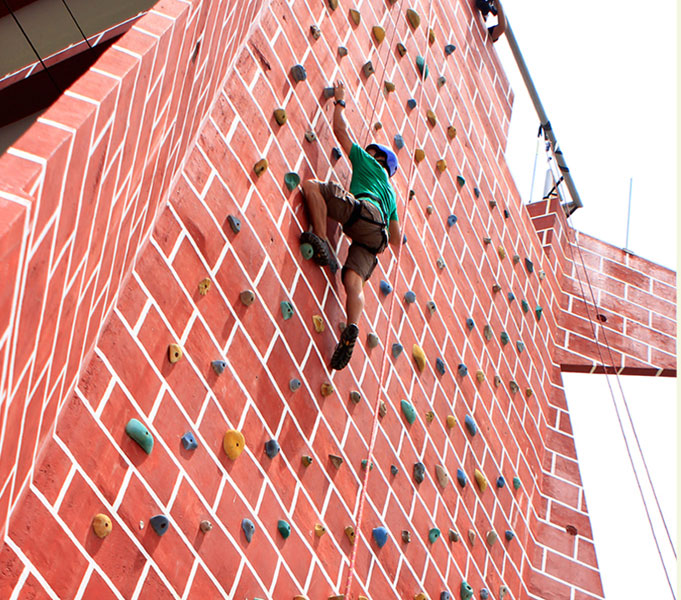Vertical Wall Climb