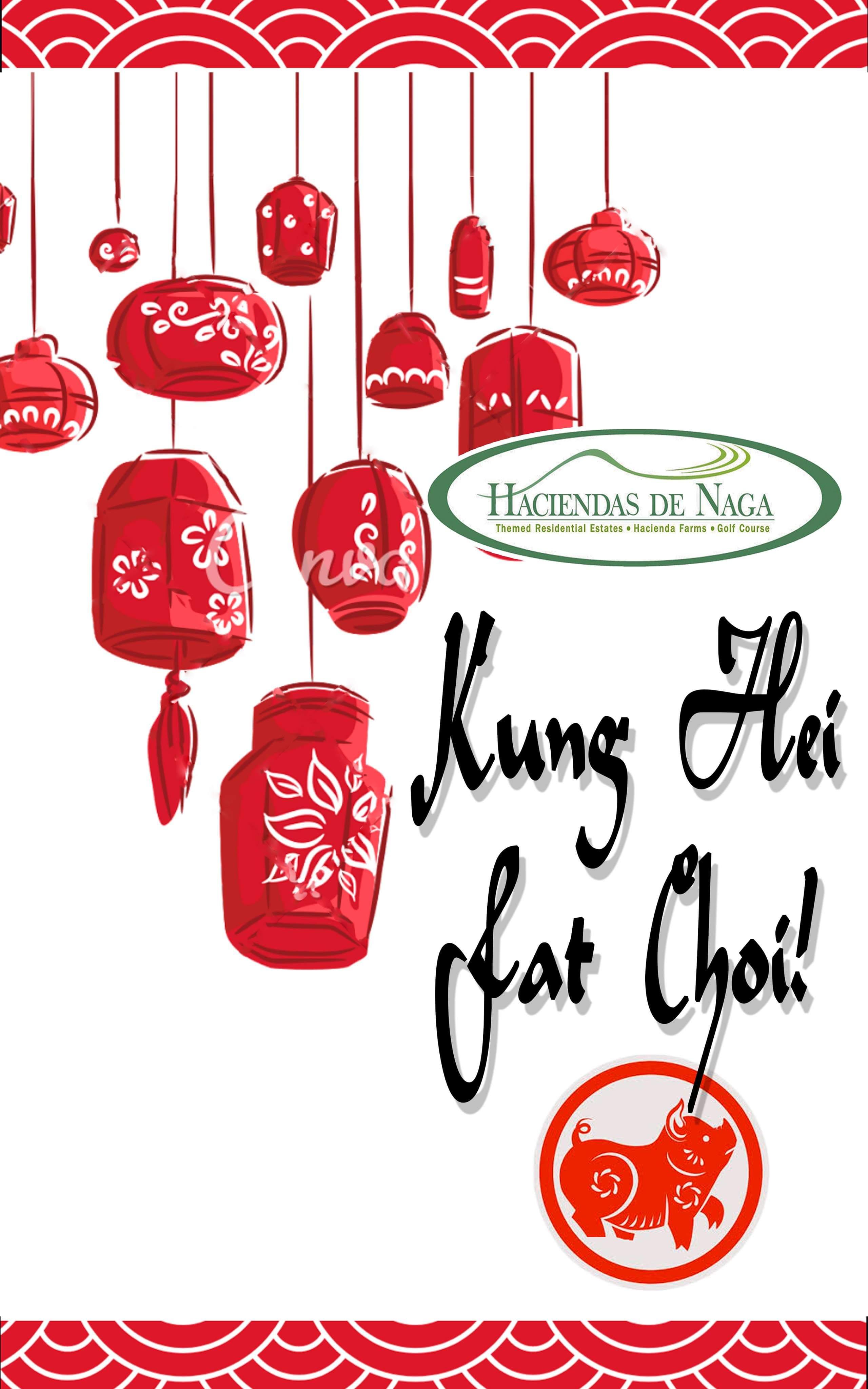 Chinese New Year greeting from Haciendas De Naga