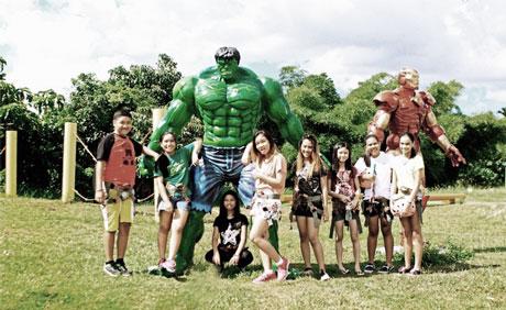 Haciendas De Naga Action Hero Park
