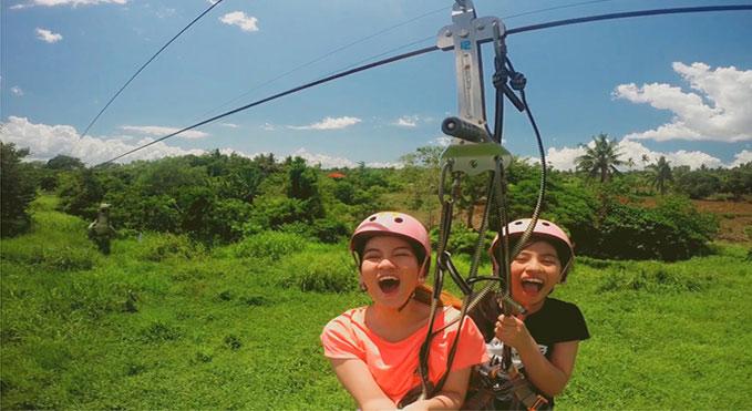 Naga City Zipline Park At Haciendas De Naga